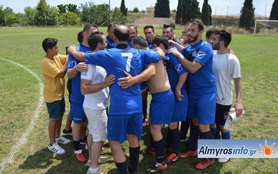 Αποστολή εξετελέσθη στον αγώνα μπαράζ παραμονής για Αχιλλέα 2-1 τα Λεχώνια (φωτο&βίντεο)