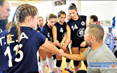 Τον πρώτο επίσημο αγώνα  βόλλεϋ δίνει η ομάδα γυναικών του Γ.Σ.Αλμυρού