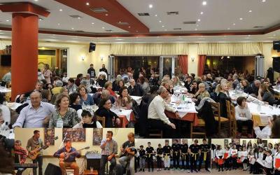 Με μεγάλη συμμετοχή η βραδιά αλληλεγγύης στη Νέα Αγχίαλο
