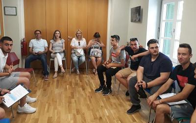 Επίσκεψη σπουδαστών του 1ου ΕΠΑ.Λ. Αλμυρού στο ΚΕΘΕΑ ΠΙΛΟΤΟΣ Βόλου