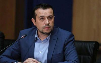 Ο Νίκος Παππάς στην εκδήλωση κοπής πίτας της ΟΜ ΣΥΡΙΖΑ Αλμυρού