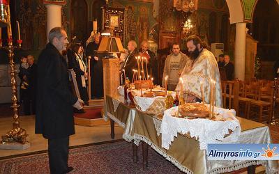 Τη μνήμη του Αγίου Αντωνίου τίμησε η Τ.Κ. Πλατάνου (φωτο)