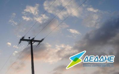 Διακοπή ρεύματος το πρωί της Κυριακής σε Αλμυρό και Ευξεινούπολη