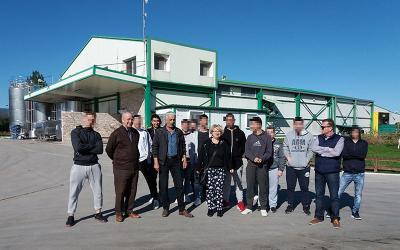 """Διδακτική επίσκεψη 1ου ΕΠΑΛ Αλμυρού στην """"Κτηνοτροφική Μαγνησίας Α.Ε."""""""