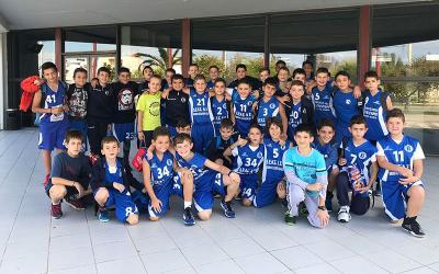 Φιλικοί αγώνες ακαδημιών καλαθοσφαίρισης ΓΣΑ με την ομάδα του Ολυμπιονίκη