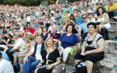 Εκδρομή στην Επίδαυρο του Πολιτιστικού Συλλόγου Ευξεινούπολης