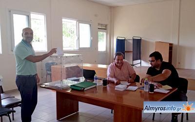 Ξεκίνησαν οι εκλογές για την ανάδειξη του νέου Δ.Σ του Γ.Σ. Αλμυρού