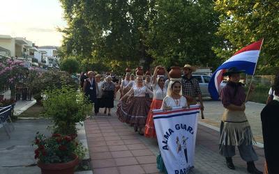 Ο Φιλοπρόοδος Σύλλογος Ν. Αγχιάλου στο 6ο Διεθνές Φεστιβάλ Παραδοσαικών Χορών