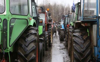 Μαγνησία: Μηχανοκίνητη πορεία από Αγροτικούς Συλλόγους