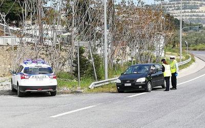 Εντατικοί έλεγχοι της Αστυνομίας στη Θεσσαλία, για την εφαρμογή των  μέτρων προστασίας της δημόσιας υγείας