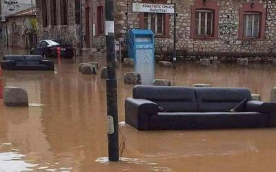 Ανθρωπιστική βοήθεια των Σοφαδιτών Μαγνησίας προς τους πλημμυροπαθείς της Καρδίτσας