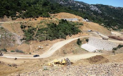 Πρόταση για την ολοκλήρωση του φράγματος στο ρέμα Μαυρομάτι