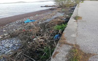 Χρ. Καραζούπης: Καταγγέλλει την εγκατάλειψη του παραλιακού μετώπου στον Δήμο Αλμυρού