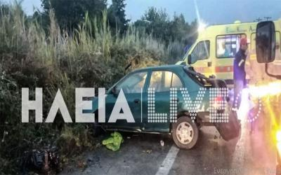 Τραγωδία στην Πατρών -Πύργου: Νεκρή 26χρονη έγκυος σε τροχαίο -Στο νοσοκομείο ο σύζυγος και το παιδί της