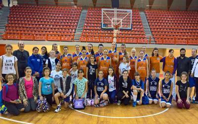 Ευχαριστήριο της Ακαδημίας Μπάσκετ Κοριτσιών Γ.Σ Αλμυρού