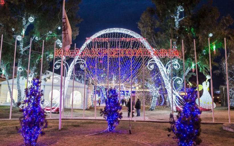 Ήπια παιχνίδια στο λούνα-παρκ του Δ. Βόλου για τα Χριστούγεννα -Η ίδια ανάδοχος με το παζάρι στον Αλμυρό