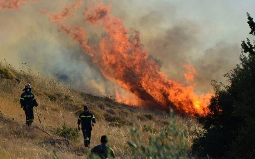 Το Πυροσβεστικό Κλιμάκιο Δρυμώνα με αφορμή την αντιπυρική περίοδο
