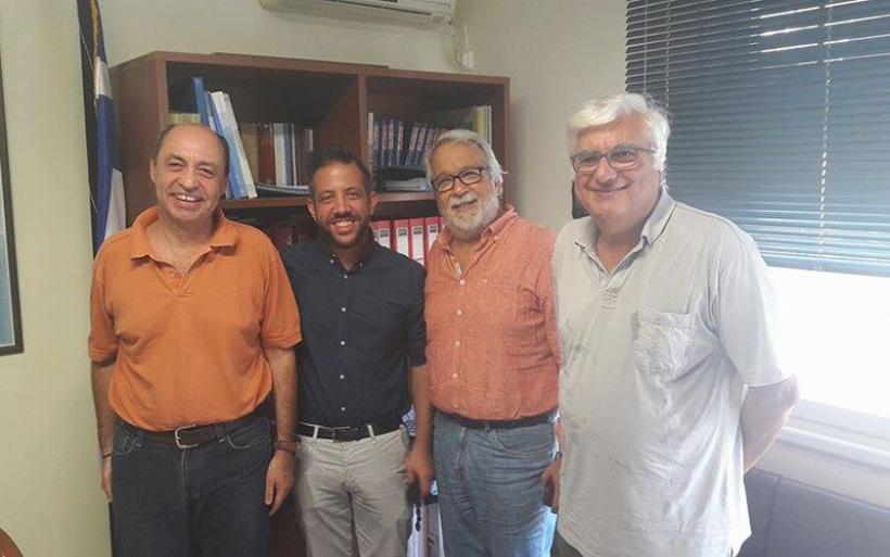Επίσκεψη αντιπροσωπείας του ΣΥΡΙΖΑ Μαγνησίας στην Διεύθυνση Πρωτοβάθμιας Εκπαίδευσης Μαγνησίας