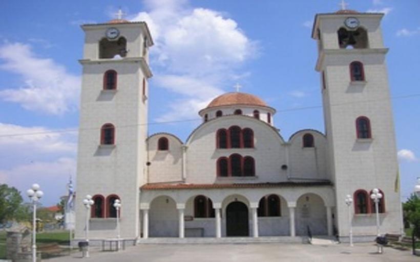 Στη Μακρυρράχη τεμάχιο του Ιερού Λειψάνου του Αγ. Εφραίμ από τον Ι.Ν. Κοιμήσεως Θεοτόκου Ευξεινούπολης