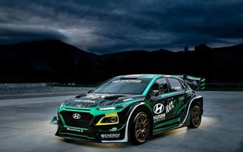 Ένα ηλεκτρικό Hyundai Kona με αγωνιστικό pedigree