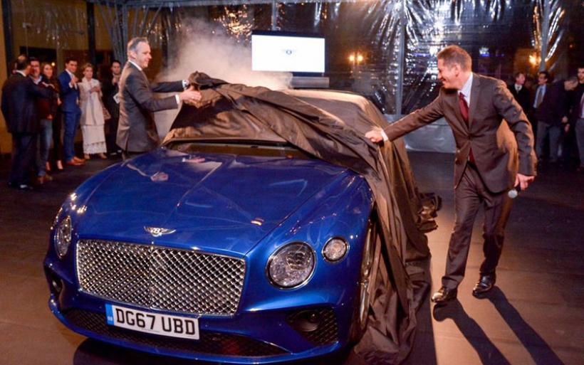 Στην Ελλάδα η ολοκαίνουργια Bentley Continental GT