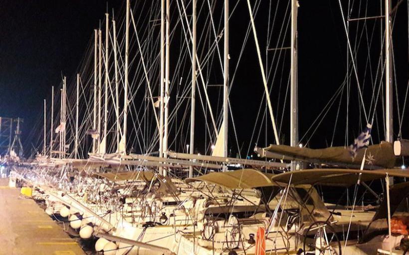 Τριάντα ιστιοπλοϊκά από την Τουρκία στο λιμάνι του Βόλου