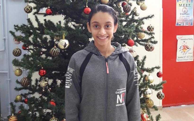 Διάκριση μαθήτριας του Γυμνασίου Ευξεινούπολης στον 8ο Τοπικό Μαθηματικό Διαγωνισμό