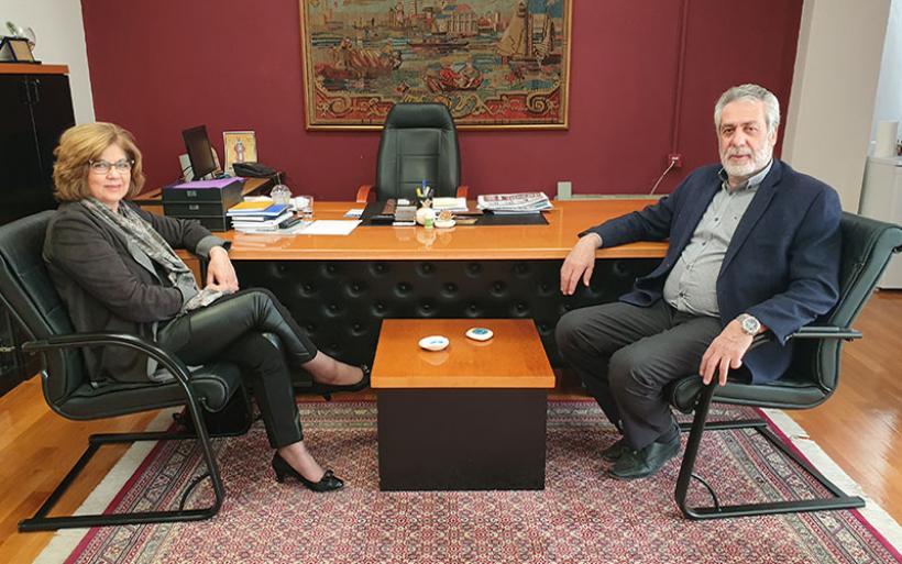 Η Πόπη Κουρκούμπα μαζί με τον Δημήτρη Εσερίδη στις ερχόμενες εκλογές του Μαΐου