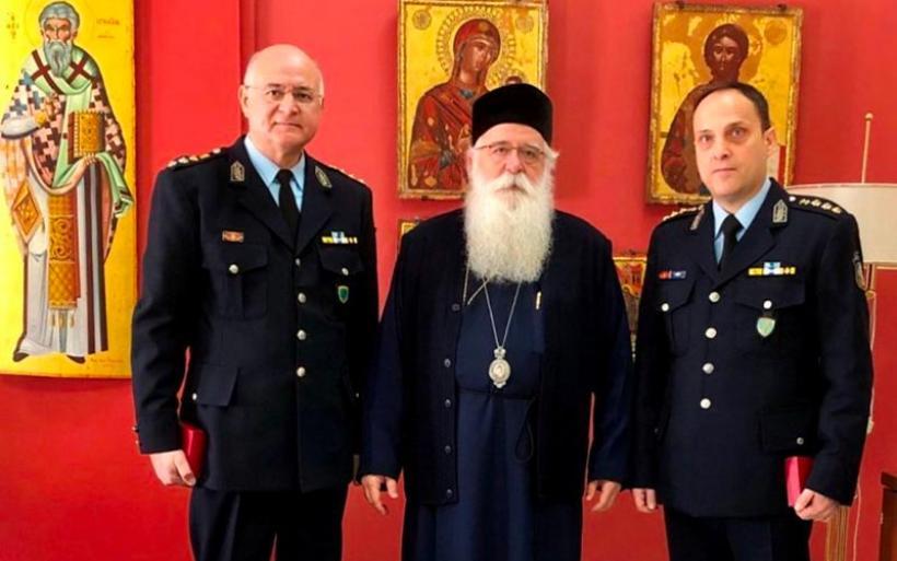 Στον Μητροπολίτη  ο νέος Αστυνομικός Διευθυντής Μαγνησίας