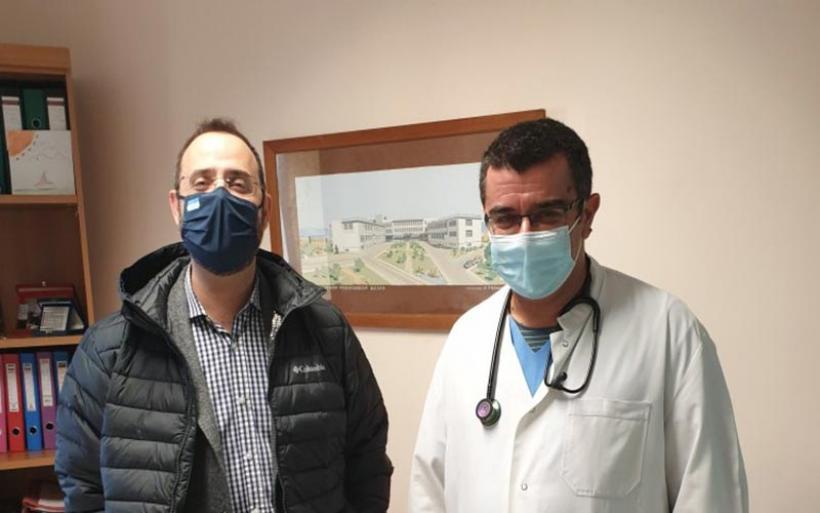 ΔΩΡΕΑ του βουλευτή Μαραβέγια 20 συσκευών οξυμετρίας στο Αχιλλοπούλειο Νοσοκομείο Βόλου