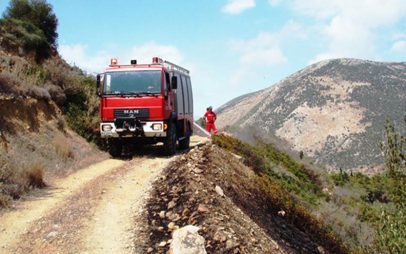 Δωρεά ελαστικών στο πυροσβεστικό Σώμα από την Goodyear Dunlop Ελλάς