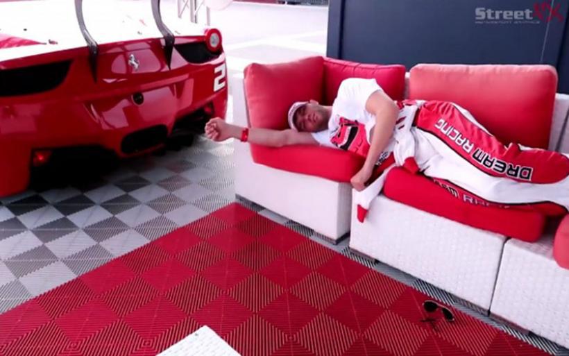 Ο χειρότερος τρόπος για να ξυπνάς είναι με Ferrari! (βίντεο)