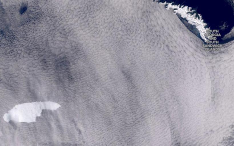 Το μεγαλύτερο παγόβουνο του κόσμου σε τροχιά σύγκρουσης με καταφύγιο πιγκουίνων