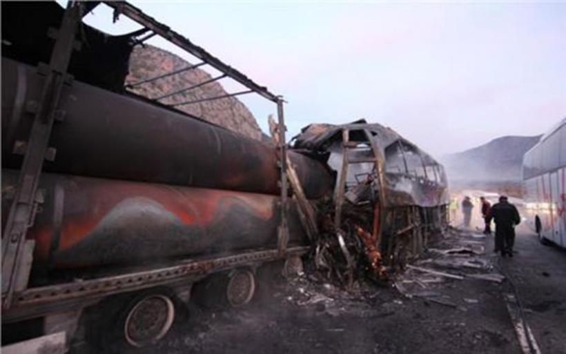 Σύγκρουση λεωφορείου με φορτηγό στην Τουρκία - 13 νεκροί