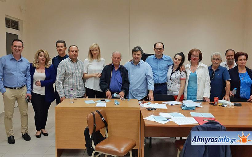 Ο Δ. Νταόπουλος πρόεδρος της ΝΟΔΕ Μαγνησίας - Τα αποτελέσματα στον Αλμυρό