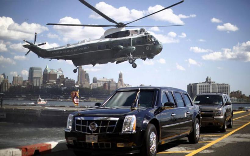 Δείτε τη λιμουζίνα-«τέρας», με την οποία θα μετακινείται ο Ομπάμα στην Αθήνα