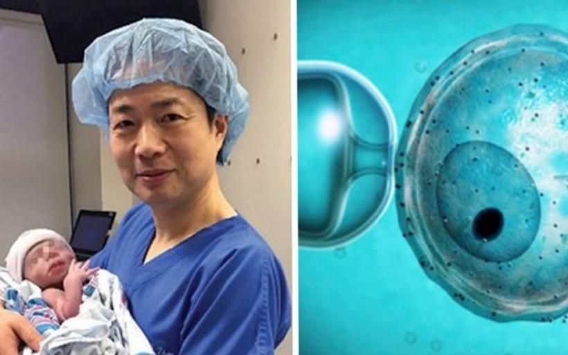 Γεννήθηκε μωρό με τρεις βιολογικούς γονείς χάρις σε νέα μέθοδο