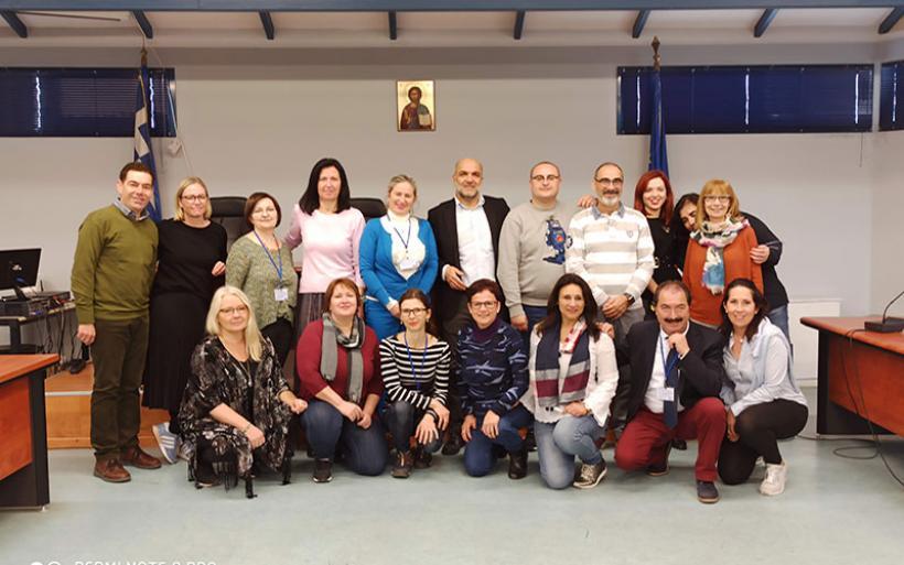 Διακρατική Συνάντηση στο 5ο Δημοτικό Σχολείο Αλμυρού, στο πλαίσιο του ERASMUS+