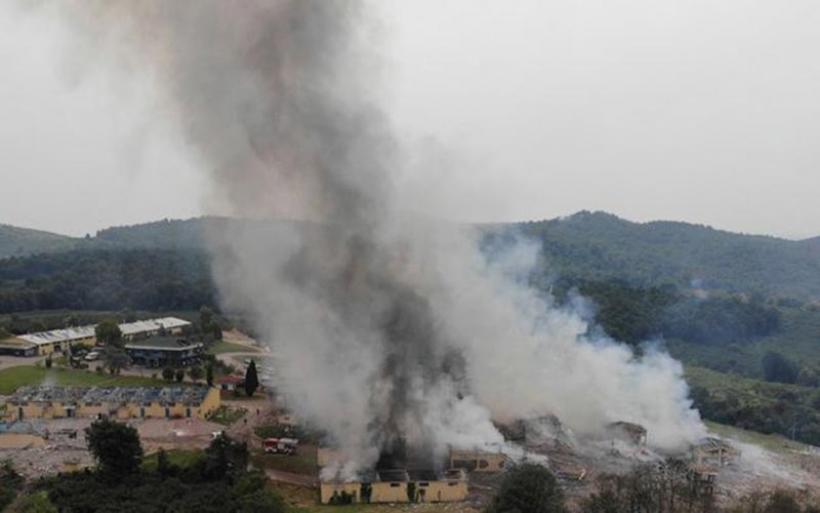 Toυρκία: Νεκροί και τραυματίες μετά από έκρηξη σε εργοστάσιο πυροτεχνημάτων