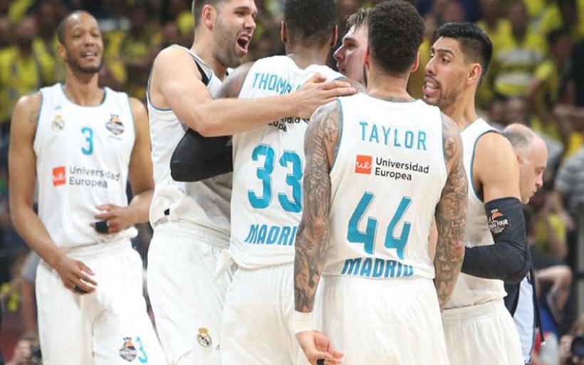 Σήκωσε τη Euroleague η Ρεαλ Μαδρίτης - Νίκησε με 85-80 τη Φενέρμπαχτσε (videos)