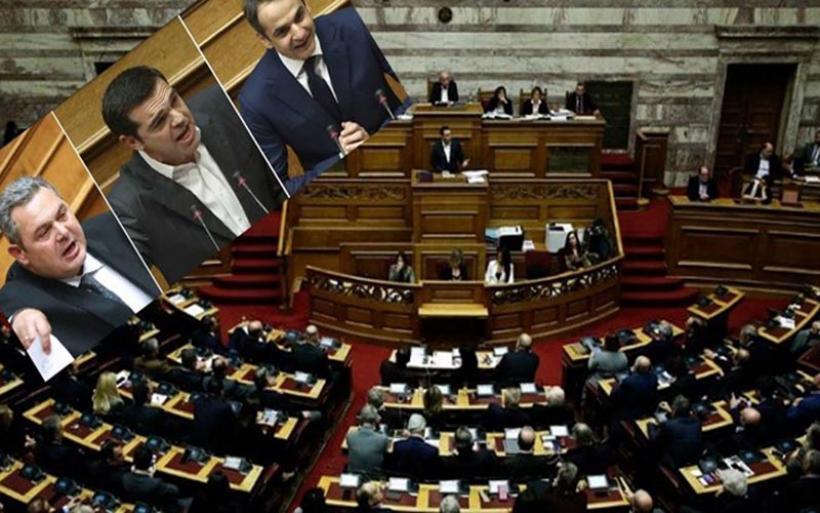 Άγρια κόντρα Τσίπρα-Μητσοτάκη στη Βουλή για τη Συμφωνία των Πρεσπών - «Ρουκέτες» από τον Καμμένο – ΒΙΝΤΕΟ