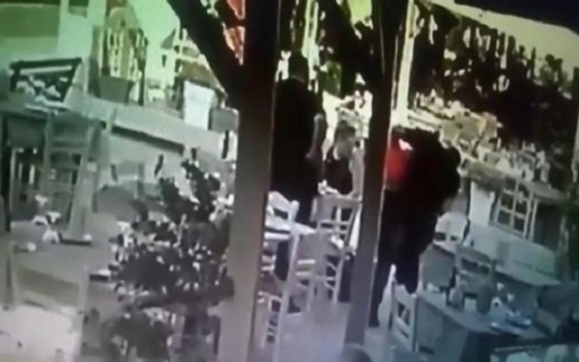 Κρήτη: Υπάλληλος ταβέρνας έσωσε πελάτη που πνιγόταν από το φαγητό - ΒΙΝΤΕΟ