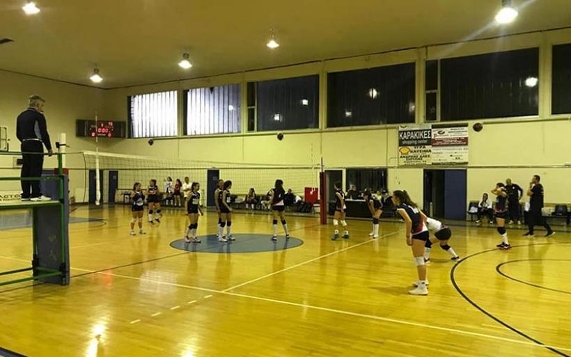Σπουδαία εκτός έδρας νίκη για την ομάδα βόλεϊ Κορασίδων (Κ-18)  του Γ.Σ.Α. στα Τρίκαλα