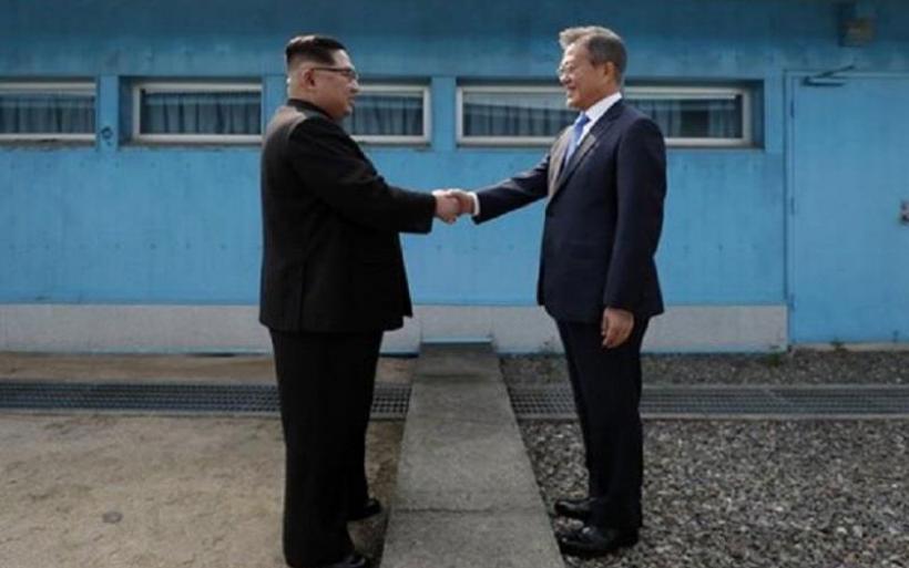 Ιστορική συμφωνία για «ειρήνη» μεταξύ Βόρειας και Νότιας Κορέας