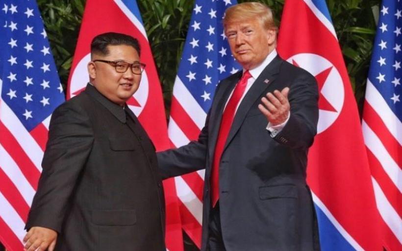 Τραμπ: Έλυσα σε μεγάλο βαθμό το πρόβλημα με τη Β. Κορέα