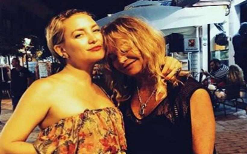 Οικογενειακές διακοπές στην Σκιάθο Kurt Russell, Goldie Hawn και Kate Hudson