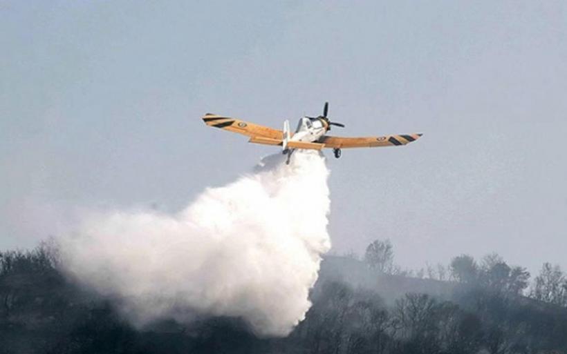 Πυροσβεστικά έκαναν ρίψεις τόνων νερού στο κεφάλι αγρότη