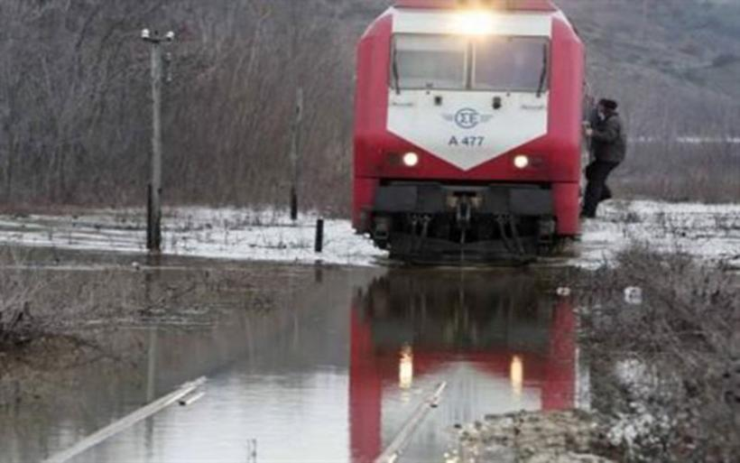 Ταξίδι-θρίλερ για 600 επιβάτες της ΤΡΑΙΝΟΣΕ προς Αθήνα