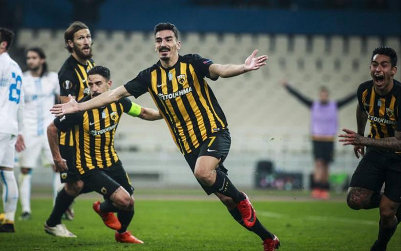 Αρκέστηκε στο 2-2 με Ριέκα η ΑΕΚ και έμεινε «ζωντανή» για την πρόκριση