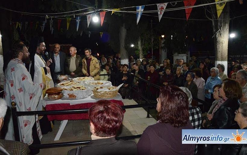 Την μνήμη των Αγίων ιατρών Αναργύρων Κοσμά και Δαμιανού τίμησε ο Αλμυρός (φωτο)